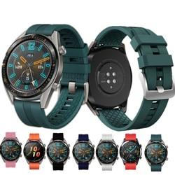 huawei watch gt 2 strap for samsung galaxy watch 46mm 3 45mm gear s3 frontier 22mm watch band correa huawei watch gt 2/2e Pro