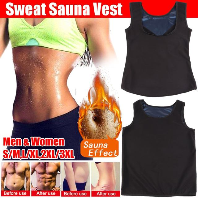 Sweat Sauna Vest Body Shapers Waist Trainer Reducing Slimming Belt Shapewear Slimming Belly Underwear Corset Women Mens Girdle