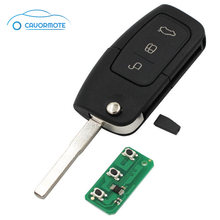 3Buttons 433 MHZ 4D63 Chip Key For Ford Focus 2005 2006 2007 2008 2009 2010 For Mondeo 2007 2008 2009 2010 Car Remote Key Fob