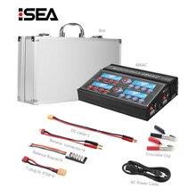 HTRC chargeur de batterie professionnel RC 4B6AC Quattro B6AC 6A 80W * 4 déchargeur pour chargeur de batterie 1 6s LiPo/Lion/LiFe