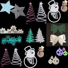 Christmas Star DIY Metal Craft Holiday Gifts Series Paper Die Cutting Dies for Scrapbooking/DIY Christmas Wedding Cards(China)