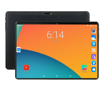 CP9 10.1 Polegada 1280 800 IPS 4G Phone Call Tablet PC Android 9.0 núcleo octa 6 MTK6753 GB de RAM GB ROM GPS WIFI Phablet 64 concha de Metal