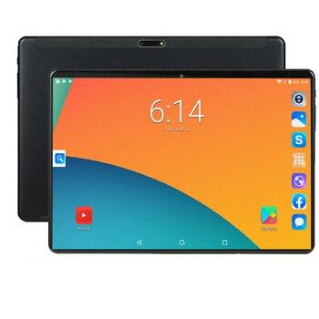CP9 10.1 pouces 1280 800 IPS 4G téléphone appel tablette PC Android 9.0 MTK6753 Octa core 6GB RAM 64GB ROM GPS WIFI alphablet coque métallique