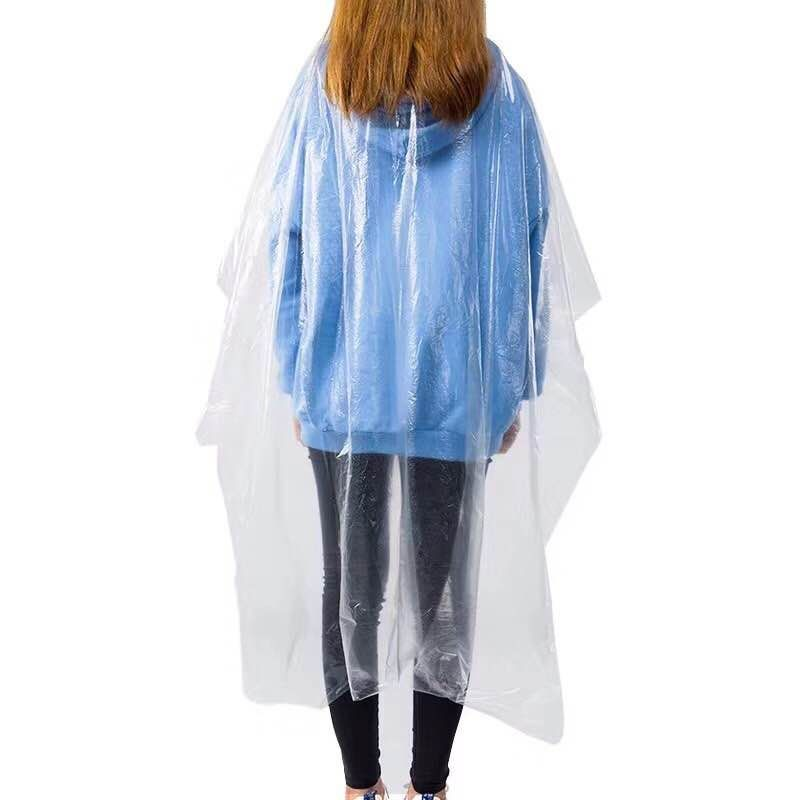 100 Pieces Per Package Disposable Hair Dye Cape Durable PE Wrap Cloth Hair Salon Haircut Emu Oil Desposable Hairdressing Apron(China)