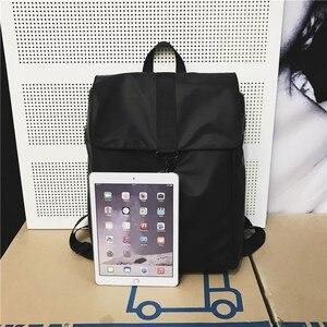 Image 5 - ファッション女性バックパッククールオックスフォード布ユニセックス高品質bagpackシンプルなバッグ防水毎日バッグ頑丈なトレンド黒ゴールド