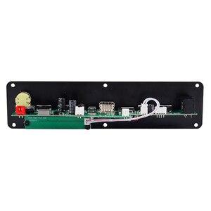 Image 4 - Mini módulo home áudio bluetooth amplificador tf uso amplo 3.7v 20w suporte fm mp3 microfone karaoke wav ape flac usb reverberação