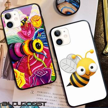 Reall Hard bee Phone Case for iphone 11 Pro 11 Pro Max X XS XR XS MAX 8plus 7 6splus 5s se 7plus SE 2020 case image