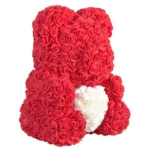 Image 3 - 2020 Cheap Red Bear Rose Teddy Bear Rose Flower Artificial Decoration Birthday Christmas Gifts for Women Valentines Gift