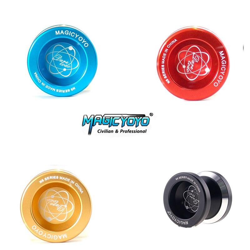Mini Elf MAGICYOYO N8 polishing ring design Yo-Yo toy flexible speed fast can be customized metal Yo-Yo children classic toys