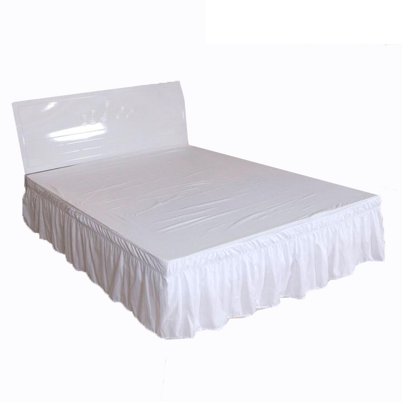 New Arrival Bed Skirt Elastic Bedsheet Bed Cover Hotel Bed Cover Without Surface Couvre Lit Home Bed Protector Bedding Bed Skirt