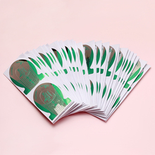 100pcs Nail Forms UV Gel Tips For Nail Art Tools Extension Builder Form Guide Nail Extension Stencil Form For Nail Polish Guide цены