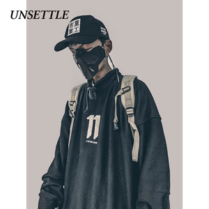 Image 1 - 2020 Autumn Harajuku Towel Embroidery Japanese Men/Women Hip Hop Pullover Hoodie Streetwear Sweatshirt  Casual Hipster Tops
