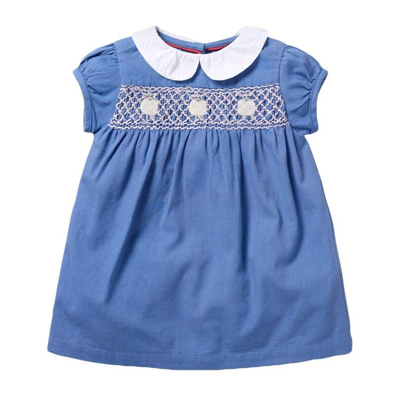 Little maven New Arrvial Girls Dress Apple Applique Girls Princess Party Dresses Toddlers Summer Dress Kids Clothing Dresses 4