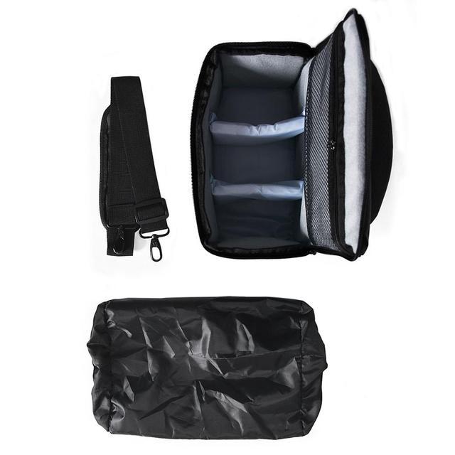 Нейлоновая сумка для видео и фото аппаратуры для объектива Canon Nikon B500 P900 D90 D750 D7000 3