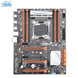 JINGSHA X99 LGA 2011 V3 płyta główna 4 kanał DDR3 256GB pamięci RAM  M.2 SSD  SATA3.0  USB3.0  PCIe 16X dla Intel E5 V3 2678 2669 2649 w Płyty główne od Komputer i biuro na
