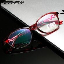 Seemfly TR90 Anti Blue Light Reading Glasses For Women Anti-radiation Presbyopic Eyeglasses Male Eyewear Diopter +1.0 To +4.0