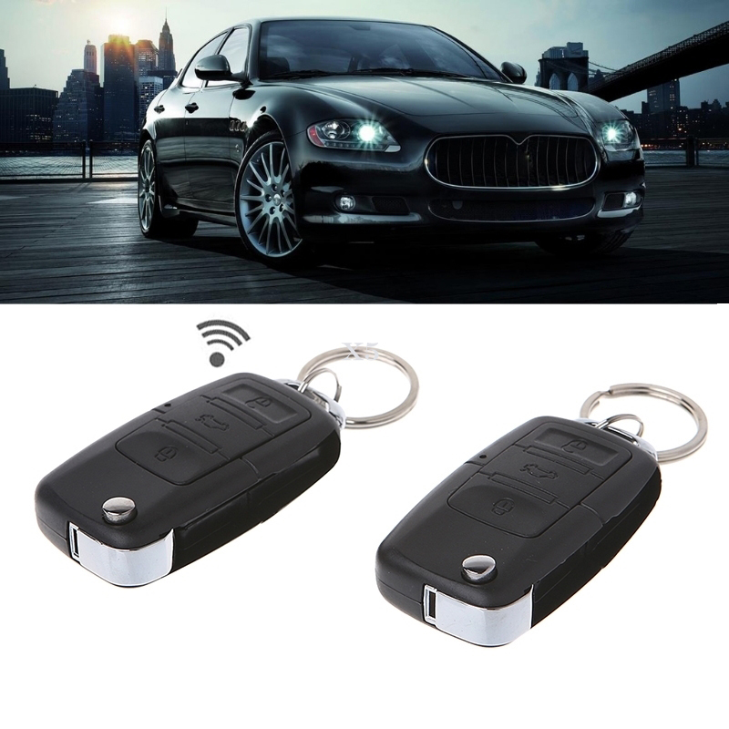 Central-Kit Alarm Vehicle-Entry-System Door-Locking Remote-Control Universal Car