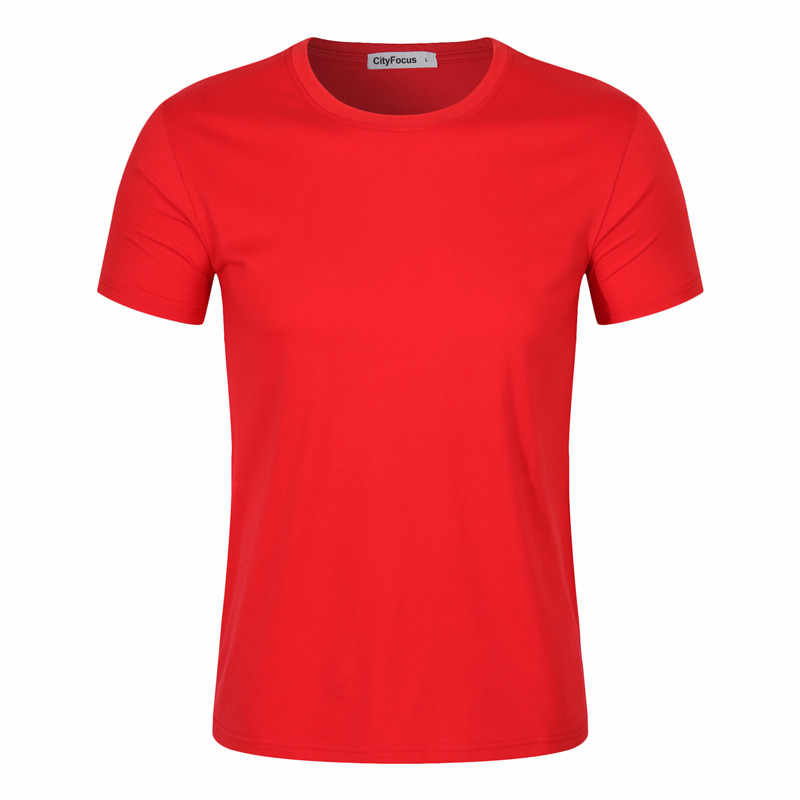 Pria Orange Lengan Pendek Olahraga Jersey Merah dengan Kerah Bulat T Kemeja Biru Wanita Menjalankan Jersey Disesuaikan Nama DIY Nomor