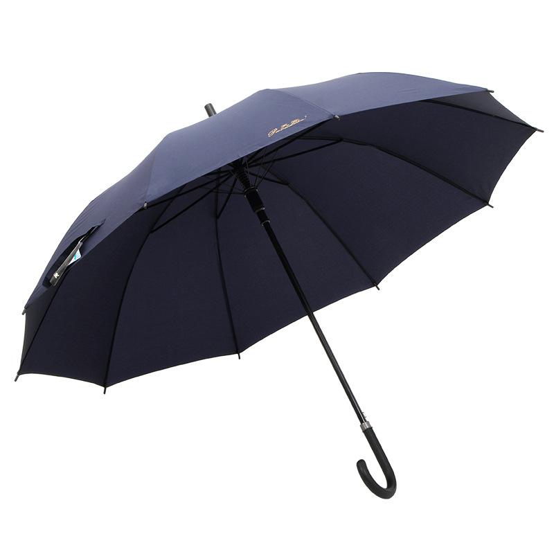 Tiantang Adult Umbrella Long Handle Ten Bone Reinforced Parasol Advertisement Extra-large Three Long Handle Men Business Umbrell