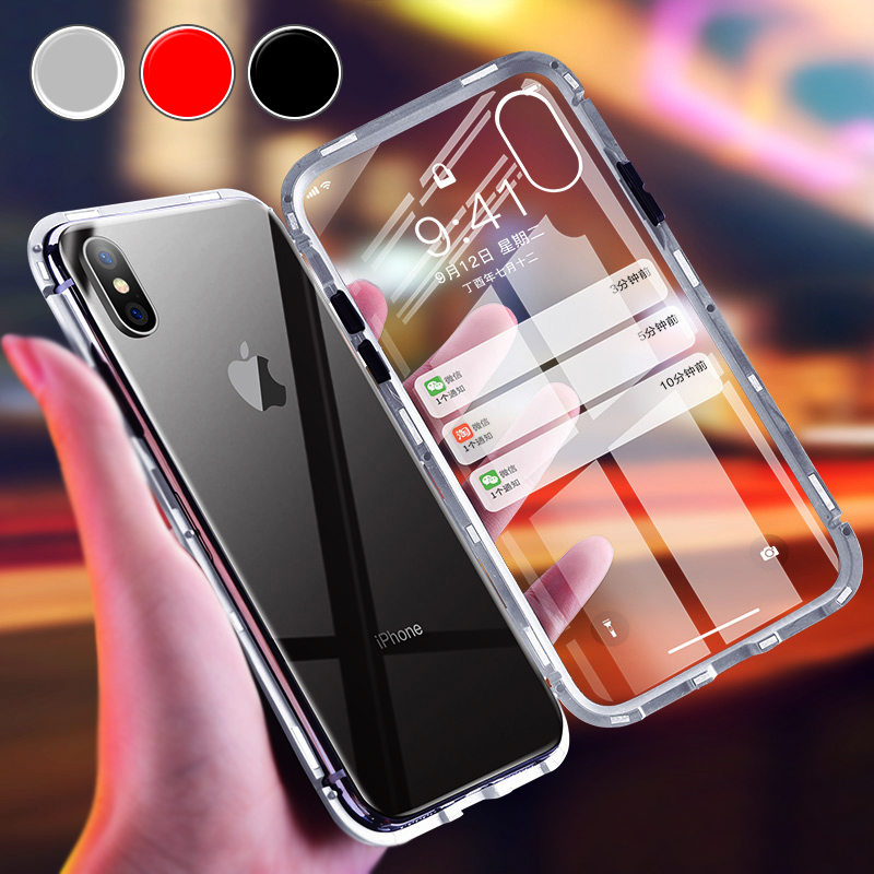 IPhone11 Magnetische Fall Fü<font><b>r</b></font> iPhone 11 <font><b>Pro</b></font> 10 XS Max Adsorption Flip Coque Auf lphone ip X S <font><b>R</b></font> 11Max 10S SX XMax <font><b>R</b></font>üstung Abdeckung Funda image