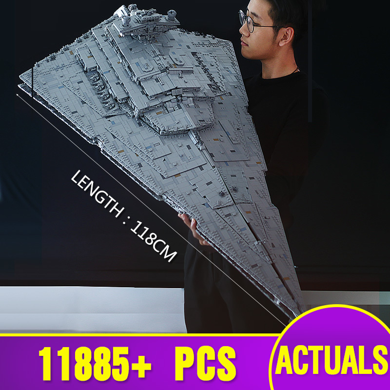 05027 Star Toys Wars The MOC-23556 Imperial Star Destroyer Compatible With Legoing 75252 Kids Christmas Gifts Building Blocks