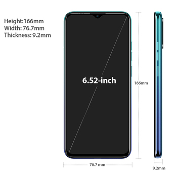 Ulefone Note 9P 6.52''HD+ Android 10 4GB 64GB 16MP Smartphone MT6762V Waterdrop Screen Octa Core 5V/2A 4G 4500mAh Mobile Phone 4
