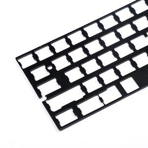 Image 3 - Универсальная анодированная алюминиевая пластина позиционирования, поддержка ISO ANSI для клавиатуры GH60 PCB 60% DIY, Бесплатная доставка