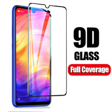 9D Tempered Glass Film for Xiaomi Redmi Note 7 Pro K20 Pro 7A Mi 8 9 SE Note 6 6A Pro Note 5 K20 Full Cover Screen Protector все цены
