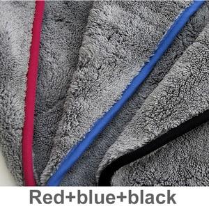 Image 2 - Tự Động Detaillering 42X48Cm Tự Động Wassen Doek Microfiber Handdoek Vệ Sinh Xe Áo Voor Xe Ô Tô Dikke Microfiber Voor Xe Ô Tô chăm Sóc Keuken