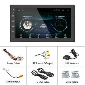 "Image 5 - Hikity Universal Android 7 ""2 DinรถมัลติมีเดียGPSวิทยุสำหรับNissan TOYOTA Kia RAV4 Honda VW Hyundai"