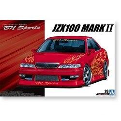 Модель сборки 1/24 Toyota JZX100 MARK II '98 05357