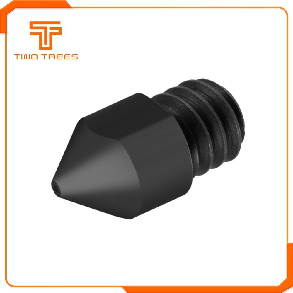 3D Printer parts Reprap MK8 Hardened steel nozzle for Ender 3 CR10 Ender 3 PRO 3D Printer
