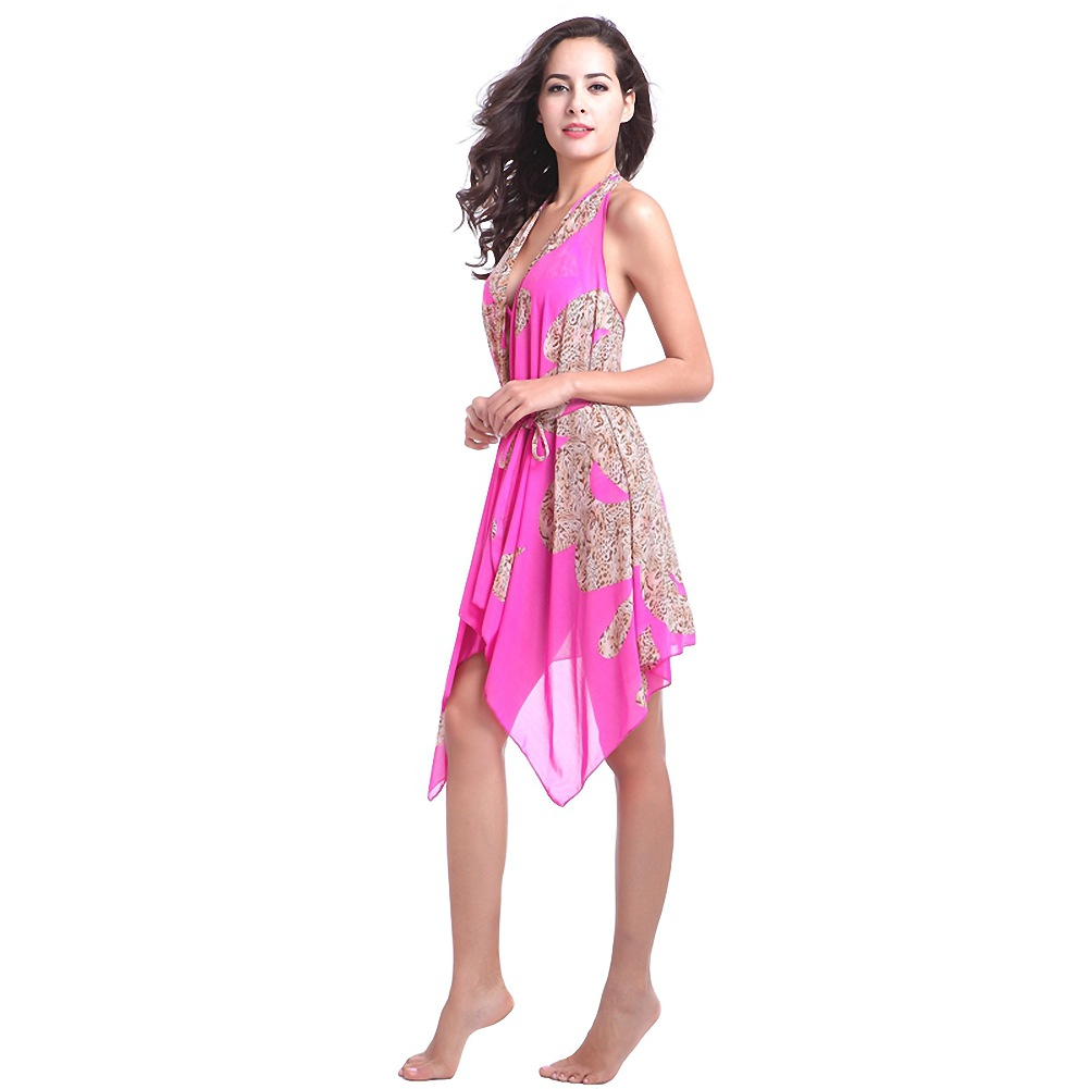 2019 Hot Selling Flexible Beach Skirt Hot Selling Ultra-stretch Gauze Witch Skirt Magic Multi Way Holiday Skirt Vb012