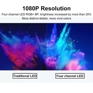 Image 5 - [Глобальная версия] XIAOMI Mijia 4k Проектор проэктор проектор full hd ЕС 3D AI 2 + 8GB HD 1080P 30000 LED Wi Fi Bluetooth SJL4014GL Полный кронштейн для театра проектор новогодний