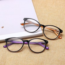 MYT_0183 New Round Reading Glasses Anti Fatigue HD Resin elderly glasses for men and women Presbyopic