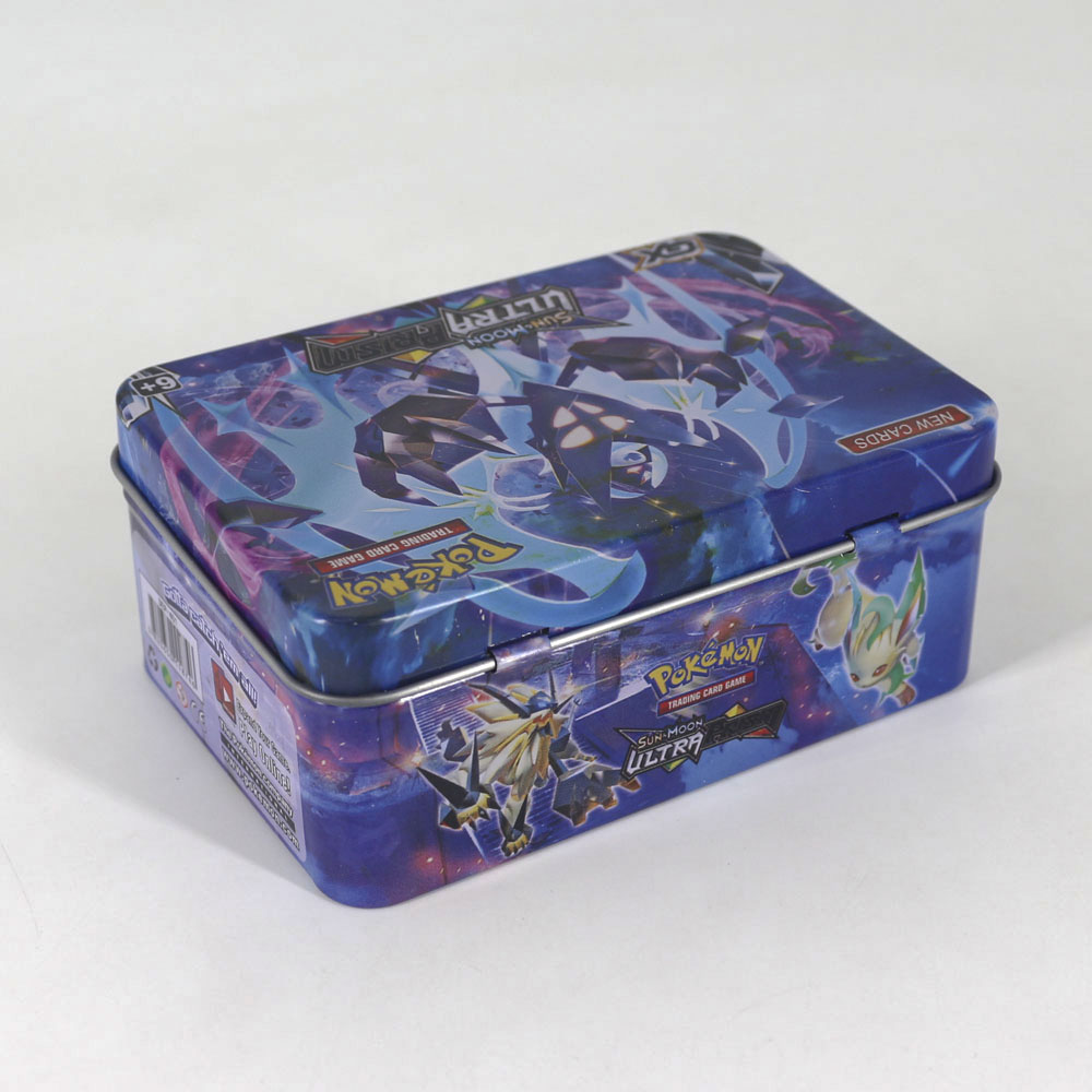 Takara Tomy 42pcs Pokemon Cards For Kids Play Card Toy Collections Metal Boxed VIP Gold Card