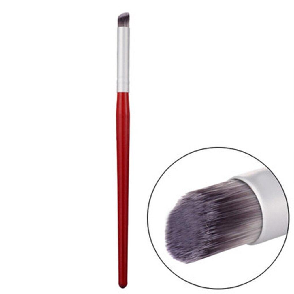 1 шт. профессиональная кисть для дизайна ногтей кисть для маникюра гель-лака градиентный цвет цветущий головокружительный краситель ручка для рисования косыми ногтями