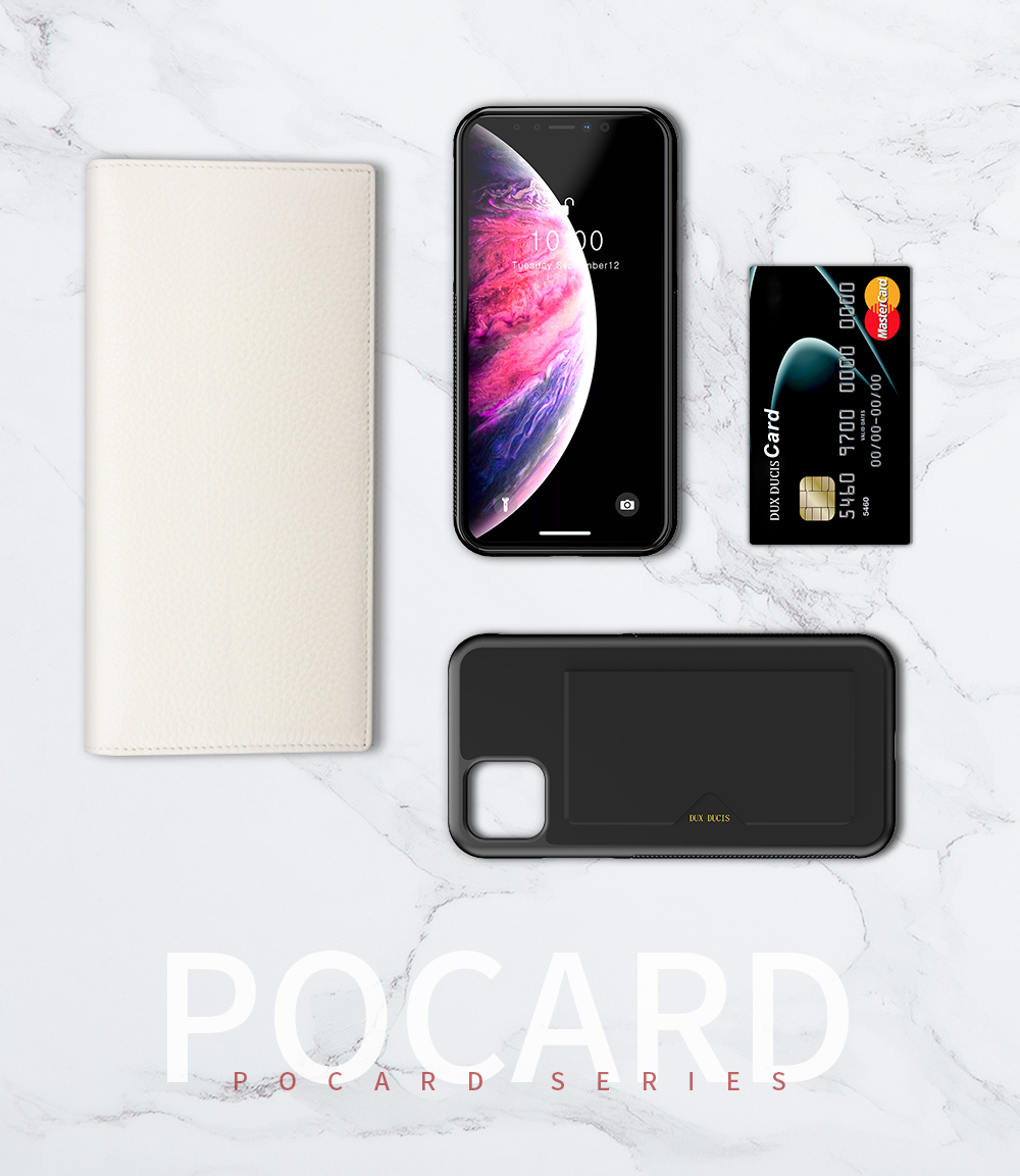 Chirm Card Pocket Case for iPhone 11/11 Pro/11 Pro Max 14