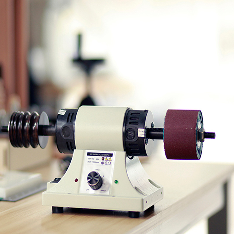 110V Leather Polishing Burnishing machine leather edge Grinding machine 8000RPM