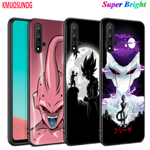 Black Cover Anime dragon ball Bad guy for Huawei Nova 5 5T 3i P Smart Z Plus 2019 P30 P20 Pro P10 P9 Lite Plus Phone Case spider man for case huawei nova 3 3i p30 lite cover for huawei p30 p20 lite pro p smart 2019 p10 p9 lite case for huawei p30 pro