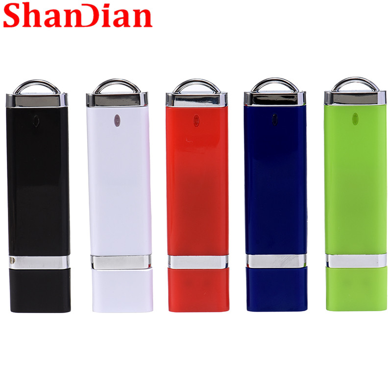 Usb-Flash-Drive Thumb-Memory Fashion 64GB SHANDIAN Business 32GB 4-Color Birthday-Gifts title=