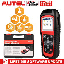 Autel MaxiTPMS TS501 Relearn Tool TPMS Reset, TPMS diagnose, Read/ clear TPMS DTCs, Sensor Activation, Program MX Sensor, Key