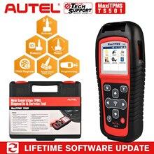 Autel MaxiTPMS TS501 инструмент для повторного обучения сброс TPMS, диагностика TPMS, чтение/очистка TPMS DTC, активация датчика, программа MX-Sensor, ключ