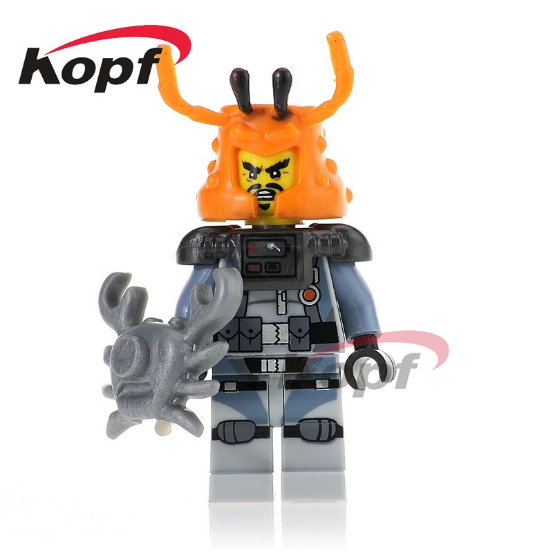 Single Sale Building Blocks Super Heroes White Shark Jungle Garmadon Enemy Hammer <font><b>70612</b></font> Figures For Children Toys Model PG1066 image