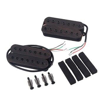 Electric Guitar  Alnico Magnet 7 String Pickups (Neck&Bridge) Rosewood