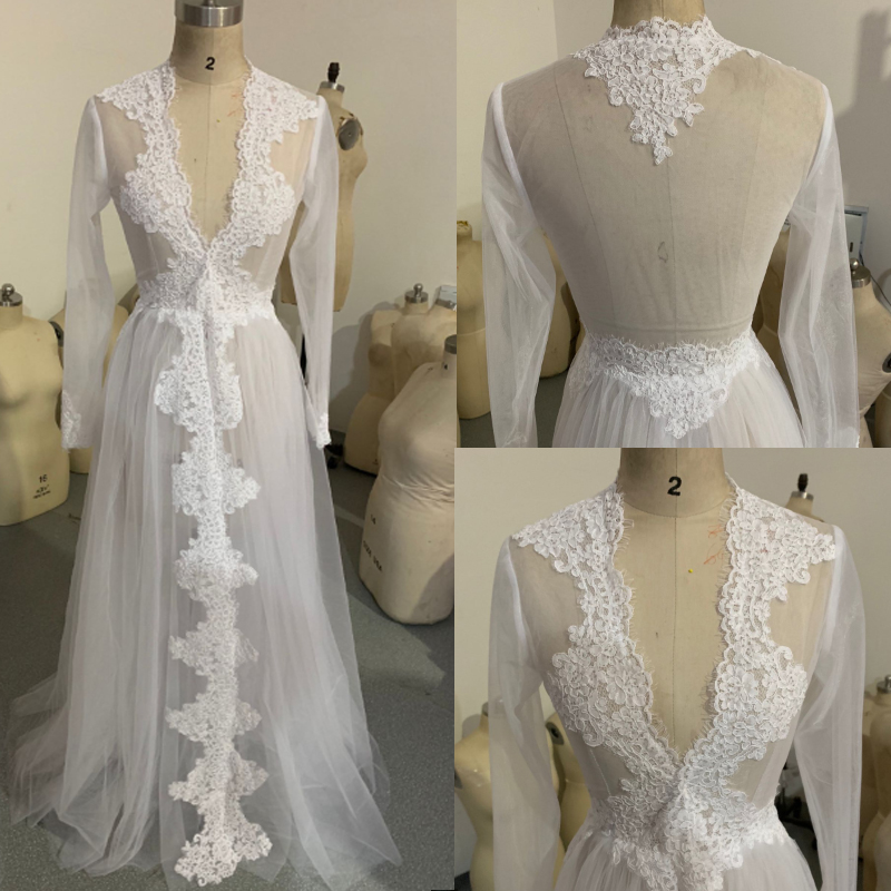 2020 Women Tulle Sheer Bridal Bolero Custom Made Lace Hem Wedding Party Cape Dress Bolero Mariage Bolero Jacket
