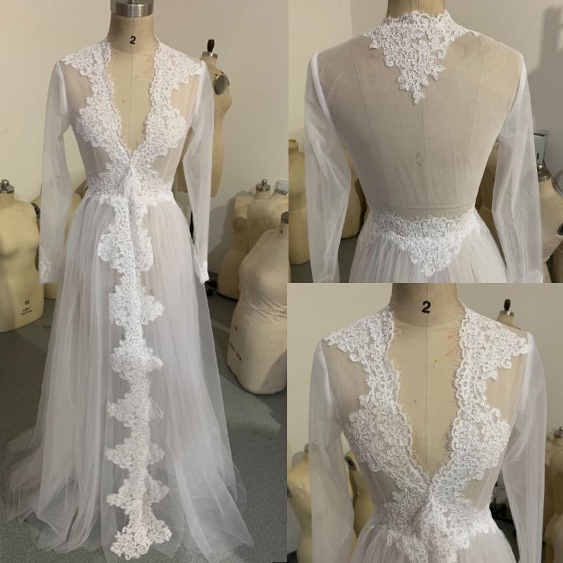 2020 Women Tulle Sheer Bridal Bolero Custom Made Lace Hem Wedding Party Cape Dress Bolero Mariage Bolero Jacket