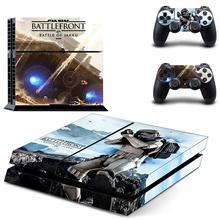 Star Wars:Battlefront PS 4 Sticker Play station 4 Stickers PS4 Skin Decal Pegatinas For PlayStation 4 console and 2 controller