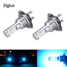 2 led para farol de carro, lâmpada led para carro h7 h8 h11 9005 hb3 9006 hb4 h1 h3 h4 hautomotivo com lâmpada externa farol de milha iluminação fonte de luz