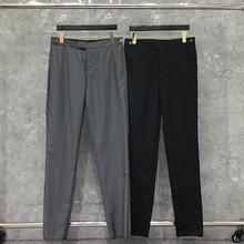 2021 Fashion TB THOM Brand Pants Men Slim Casual Suit Pants Business Black Spring And Autumn Cotton Formal Trousers